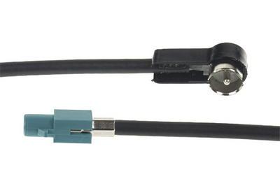 Car Audio Anténní adaptér FAKRA samec uni/ISO samec, 23 cm