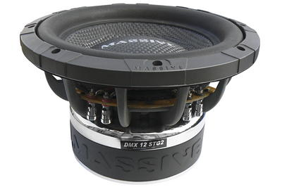 Subwoofery do auta Massive Audio DMX 12