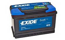 Autobaterie Exide Excell EB758
