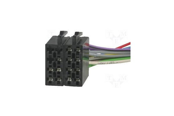Car Audio Iso Konektor Auto-24003
