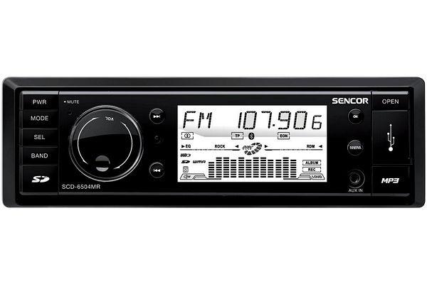 25120b131 Sencor SCD 6504MR - autorádia s CD a podporou USB » www.prohifi.cz